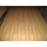 China Teak Faced decorative Plywood sheets With 2.4mm In Package Box wholesale