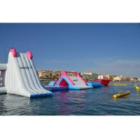 China Giant Inflatable Floating Water Park Equipment / Air Water Games for Kids and Adult wholesale