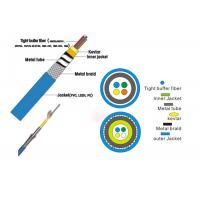 China Four Cores Glass Fiber Optic Cable Easily Strip And Splice Low Smoke wholesale