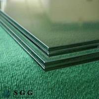 China Dark Green Laminated Glass Price 8.38mm 10.38mm 12.38mm wholesale