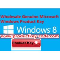 China Brand New Windows 8 Professional OEM Product Key Code Activate Online Download on sale