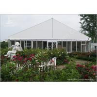Buy cheap Gorgeous Transparent Glass Outdoor Party Tents , 850g/Sqm PVC Fabric 20x30 Tent from wholesalers