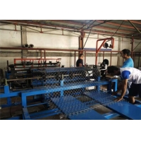 China Fully Automatic 11kw 1.5mm Chain Link Fence Making Machine wholesale