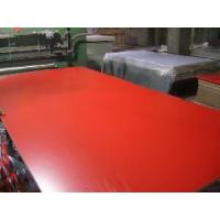 China Melamined MDF in Red Color (CM 058) wholesale