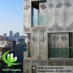 China Professional Aluminium Building Cladding Waterproof Aluminum Facade Panels wholesale