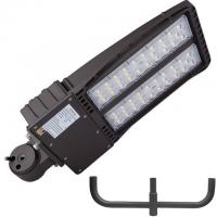 China Outdoor LED Parking Lot Lights 200w Shoebox Led Street Lamp UL DLC With Photocell wholesale