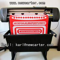 China Contour Cutting Plotter With Optic Eye 24 Inches Vinyl Sticker Cutter With Laser Label Cut wholesale