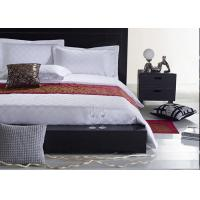Jacquard Fabric Hotel Bedding Sets , Hotel Collection 6 Piece Comforter Set