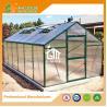 China Aluminum Greenhouse-Titan series-606X306X243CM-Green/Black Color-10mm thick PC wholesale