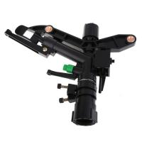 China 1 Inch Adjustable Plastic Impact Water Sprinkler Agriculture Garden Irrigation wholesale