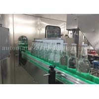 China Fully Automatic Carbonated Drink Production Line Energy Drink Glass Bottle Filling Machine wholesale
