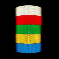 China Ultraviolet 3 Inch / 4 Inch Wide Reflective Tape Type III Self Adhesive 10 Years wholesale