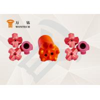 China Endurable Borehole Drill Bit , Foundation Drilling tapered drill bit 6° 7° 11° 12° wholesale