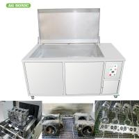 China Engine Block Automotive Ultrasonic Cleaner 500L Oil Filter Recycling 28khz Frequency on sale