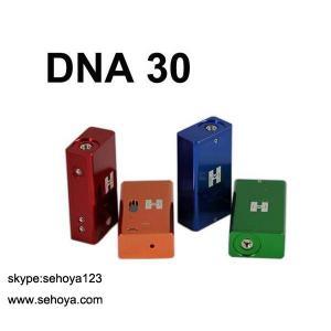 China 2014 Newest e cig mechanical mod DNA 30 18650 vv box mod china supplier ecig wholesale wholesale