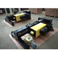 China Double Twin Rails Electric Wire Rope Hoist , Electric Lifting Hoist 30M Lifting Height wholesale