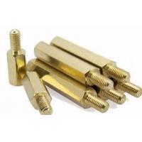 China Brass Hex Sacer Screw Bolt M3 Male Female Metric Connection Fastener wholesale