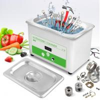 China 0.8L Digital Industrial Ultrasonic Cleaner For Tools , Nuts , Bolts , Power Adjustable wholesale
