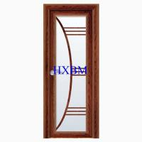 China Wide View Aluminum Clad Exterior Doors With Integral Matched Mosquito Screen wholesale