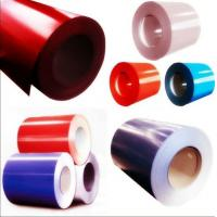 China Roofing Material Prepainted Colored PPGI Steel Coil 0.12-1.2mm Thickness / 1250 Width wholesale