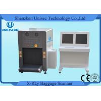 China ISO1600 Film Duel View SF6550D Security Baggage Scanner 38AWG , 40mm Steel Penetration wholesale