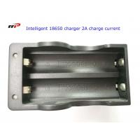 China 2 Slots 18650 Intelligent Battery Charger Led Display Fast Charging UL CE KC wholesale