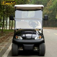 Buy cheap Most Popular 2 Seats Electric Golf Carts With Cloak , 100 Waterproof Accelerator from wholesalers