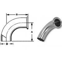 """China ASTM A270 Sanitary Stainless Steel Fittings Elbows 1/4""""-4"""" Matte Polsihed wholesale"""