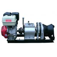 50 KN Fast Line Speed 5 Ton Speedy Gasoline Engine Winch for Power Construction Manufactures