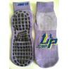 China China Supply Bungee Jump Socks 25cm Polyester Anti-skid Non-Slippery Grip Socks Kid Trampoline Socks for Jumping wholesale