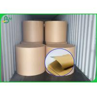 Buy cheap Different Gram Brown Color Kraft Liner Roll For Printing Or Packaging from wholesalers