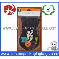 China Colorful Environmental Plastic Treat Bags Custom Thickness For Halloween Party wholesale