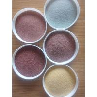 China Coloured sand is used for building decoration, terrazzo aggregate, genuine stone paint and color sand coating. wholesale