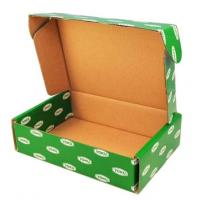 China Printed Cardboard Boxes With Lids , Fruit Packing Boxes FSC SGS Certificate on sale