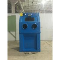 China Fiber Glass Wet Blasting Cabinet Small Operating Size Manual Control Mode wholesale
