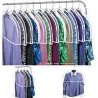 China Transparent Plastic Dust-proof Closet Garment Shoulder Cover Plastic Dust-Proof Suits Cover Hanger wholesale