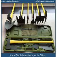 China An ax, shovel, Mattock, picks, rake, hoe and more all in one, it accommodates seven tools onto a single polyglass handle wholesale