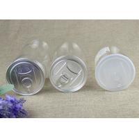 China 50ml Food Grade Clear Plastic Cylinder Tubes , Transparent PET Nut Cans wholesale