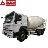 Buy cheap 6*4 10m3 Mobile HOWO Concrete Mixer Truck Machine For Construction Works from wholesalers