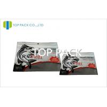 China Customized Window Fishing Lure Packaging Ziplock Three Side Sealing Bag wholesale