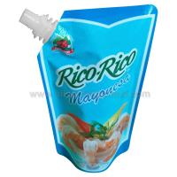 China Food grade Stand up Spout Pouch for 175g seasoning Packing wholesale