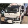 Buy cheap 1-4 Ton JAC 4x2 Light Refrigerator Van Truck / Dry Box Van Cargo Truck 3308 Mm from wholesalers