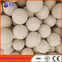 China Chemical Stability Refractory Alumina Ceramic Ball For Hydro Converter wholesale