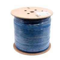 China High Speed Lan cable ftp cat 6 / Indoor cat6 shielded cable 0.58mm wholesale