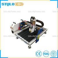 China Ball Screw Transmission Mini 6090 cnc router 2D and 3D woodworking machine for sale wholesale