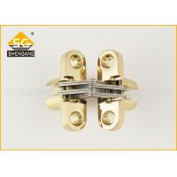 China Zamak Folding Door Hardware Small Concealed Hinges Soss Cerniera on sale