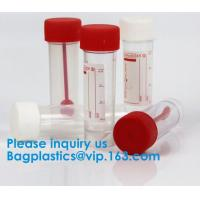 China Disposable Urine Specimen Cup/Urine Sample Containers/Urine Collection Cup,Sterile Disposable Hospital Sample 60ml 100 on sale