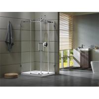 China Corner Shower room 304 stainless steel Rail bar Material for bathroom 100X100X195/cm wholesale