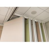 China Durable Movable Wall Systems Anodizing Treatment For Executive Boardrooms wholesale