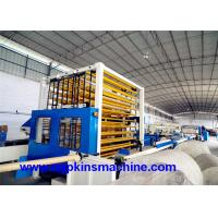 China Small Toilet Paper Making Machine Production Line For Tissue And Kitchen Towel wholesale